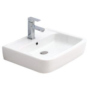 "Umivaonik nadgradni 550 x 450 pravougaoni belo I – RUPA ""Alvit"""