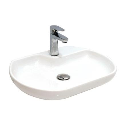 "Umivaonik nadgradni 550 x 420 belo I – RUPA ""Alvit"""