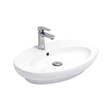 "Umivaonik nadgradni 450 elipsasti belo I – RUPA ""Alvit"""