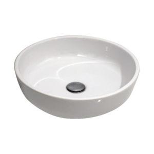 "Umivaonik nadgradni 450 okrugli; H-13cm belo I ""Alvit"""