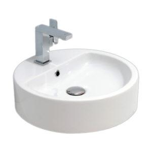 "Umivaonik nadgradni 450 okrugli; H-13cm belo I – RUPA ""Alvit"""
