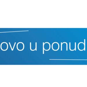 NOVO U PONUDI – INVENA 2019