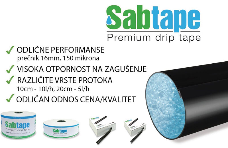 SAB-TAPE traka za navodnjavanje 20cm/5l