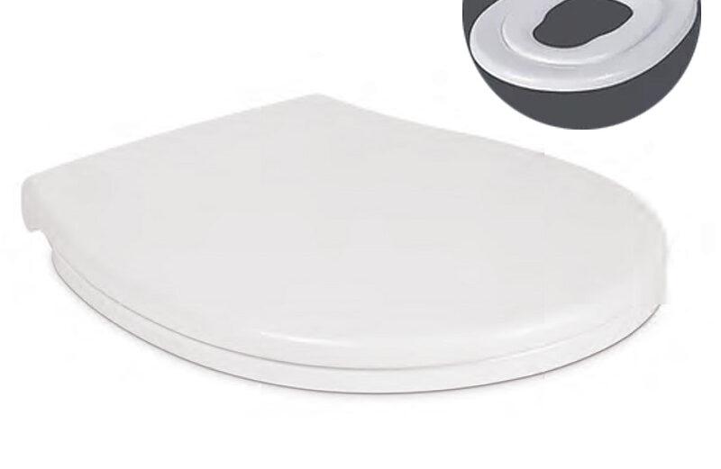 "Wc daska FAMILY termoplast (360×405-445) SOFT CLOSE ""Nkp"""