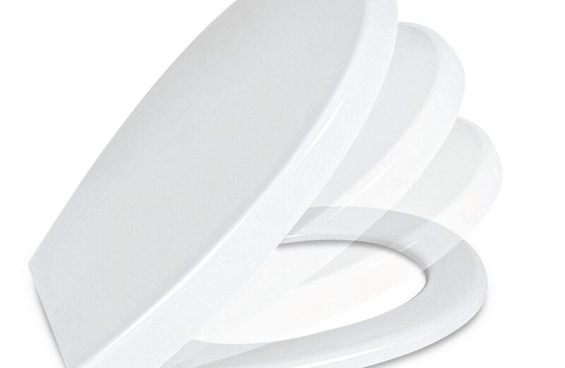 "Wc daska GENESIS duroplast (358×405-445) SOFT CLOSE ""Nkp"""