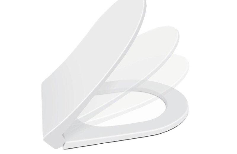 "Wc daska SLIM INCI termoplast (357×390-430) SOFT CLOSE ""Nkp"""